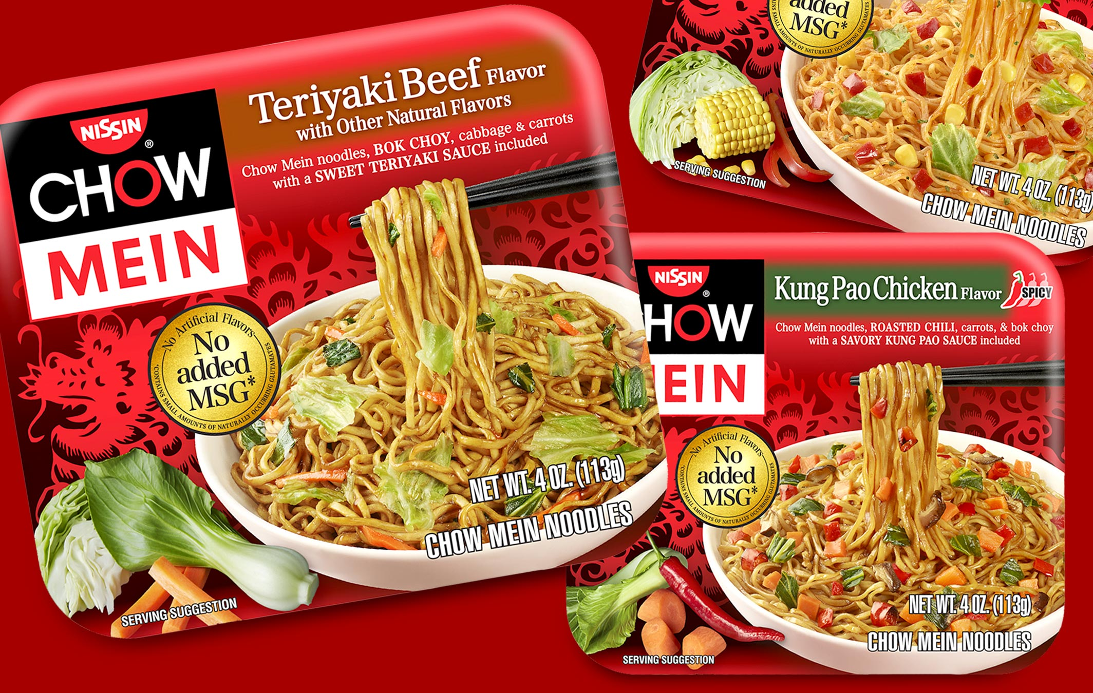 Nissin Chow Mein