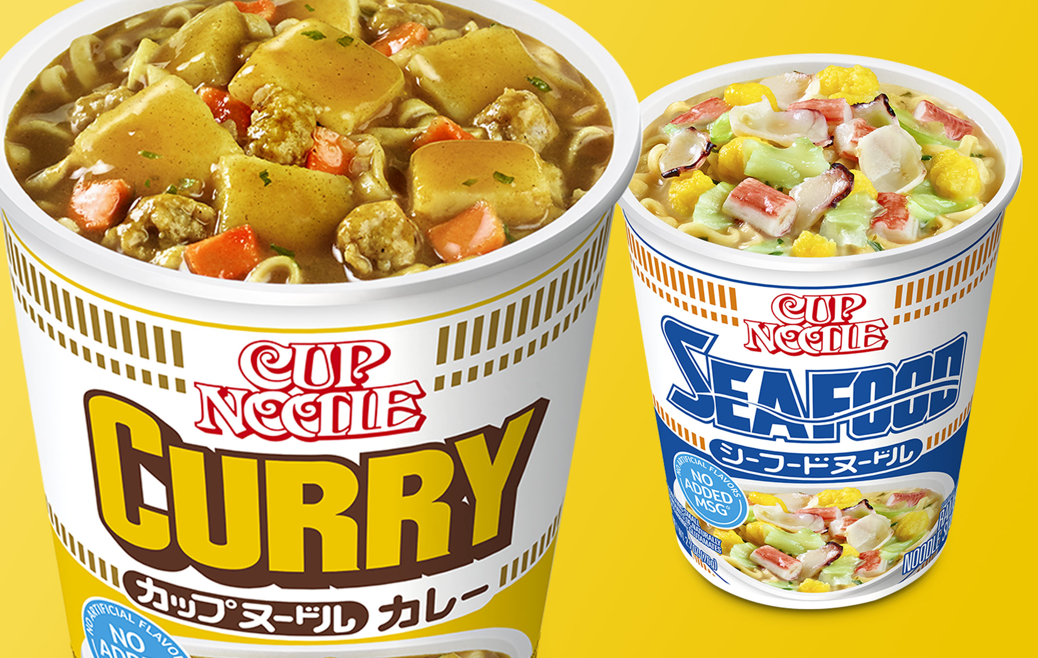 Nissin Cup Noodles Curry and Seafood